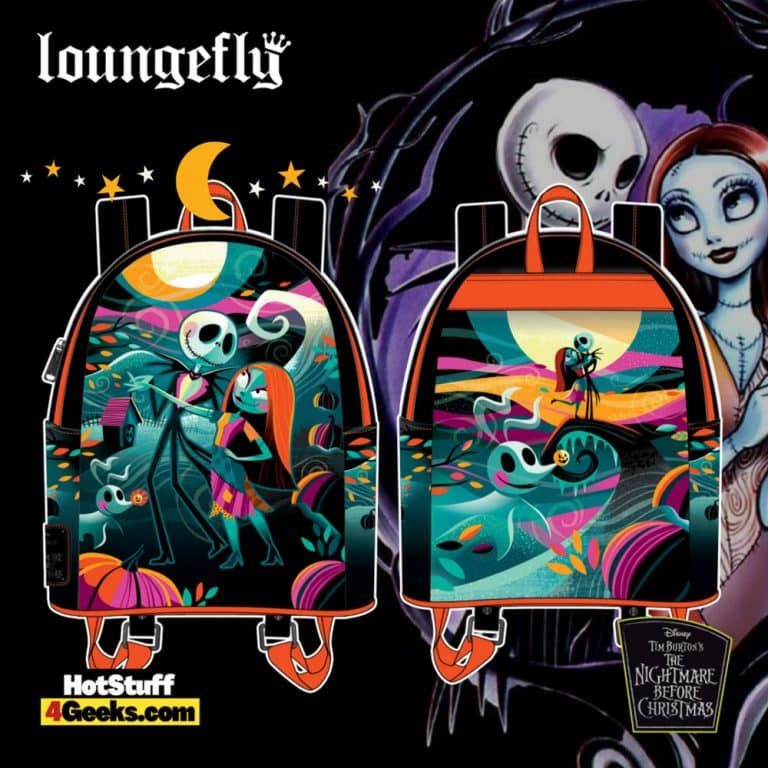 Loungefly Disney (Nightmare Before Christmas) NBC Simply Meant To Be Mini Backpack - pre-order July 2021 arrives August 2021