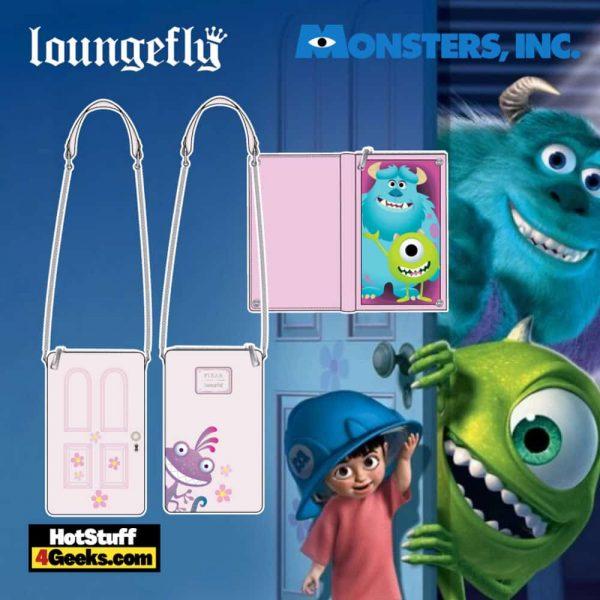 Loungefly Disney Pixar Monsters Inc Boo's Door Crossbody - pre-order July 2021 arrives August 2021
