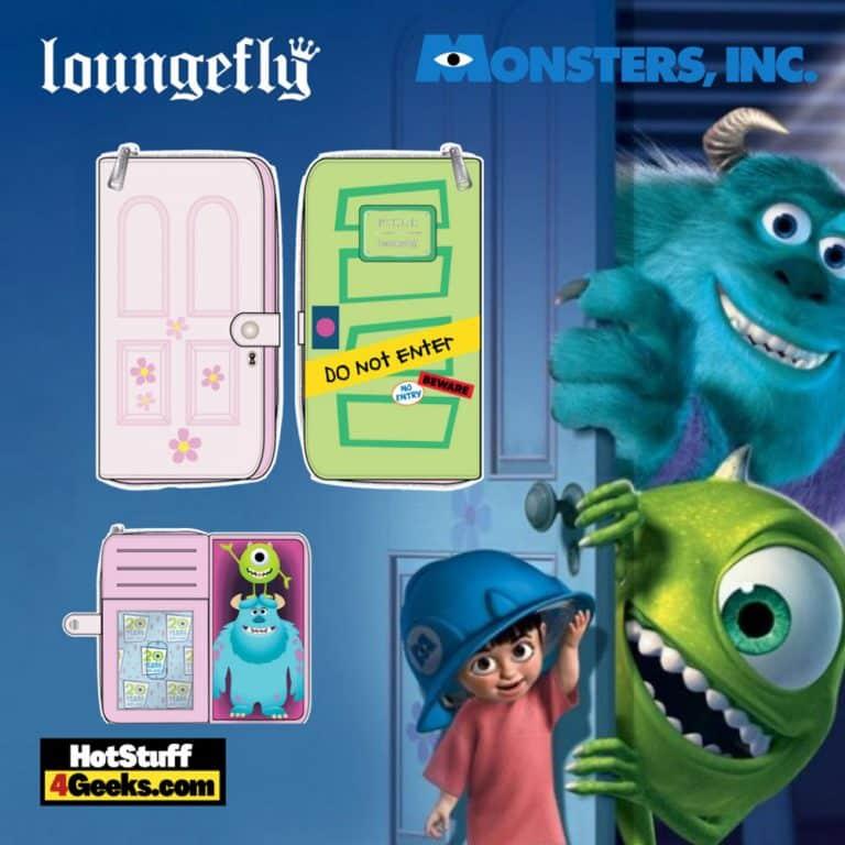 Loungefly Disney Pixar Monsters Inc Boo's Door Zip Around Wallet - pre-order July 2021 arrives August 2021