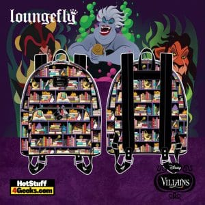 Loungefly Disney Villains Books Mini Backpack - pre-order July 2021 arrives August 2021