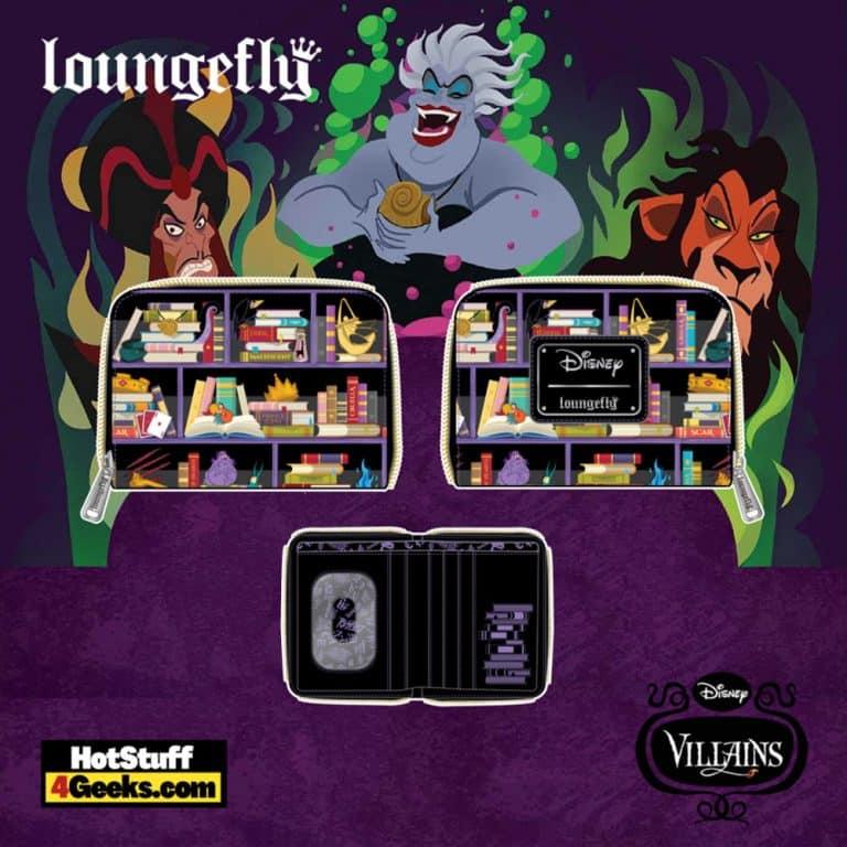 Loungefly Disney Villains Books Wallet - pre-order July 2021 arrives August 2021