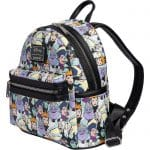 Loungefly Disney Villains: Maleficent Cruella Ursula AOP Mini Backpack - Open and Clothing Exclusive