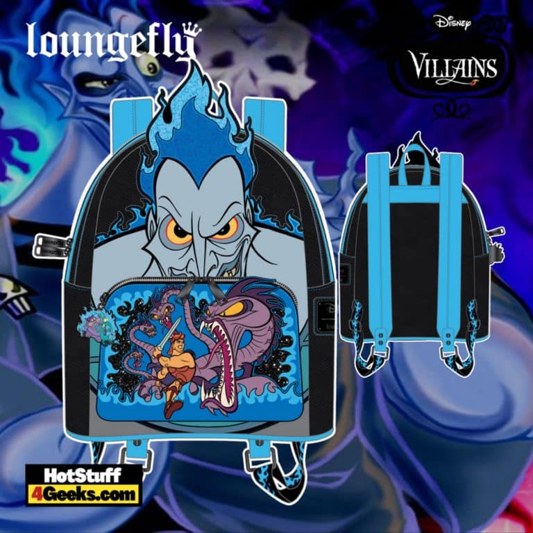 Loungefly Disney Villains Scene Hades Mini Backpack - pre-order July 2021 arrives August 2021