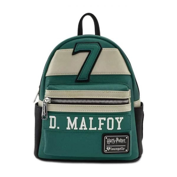 Loungefly Harry Potter Draco Malfoy #7 Quidditch Cosplay Mini Backpack - 707 Street Exclusive