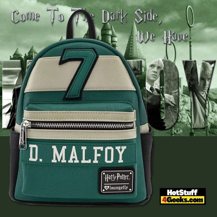 Loungefly Harry Potter Draco Malfoy #7 Quidditch Cosplay Mini Backpack