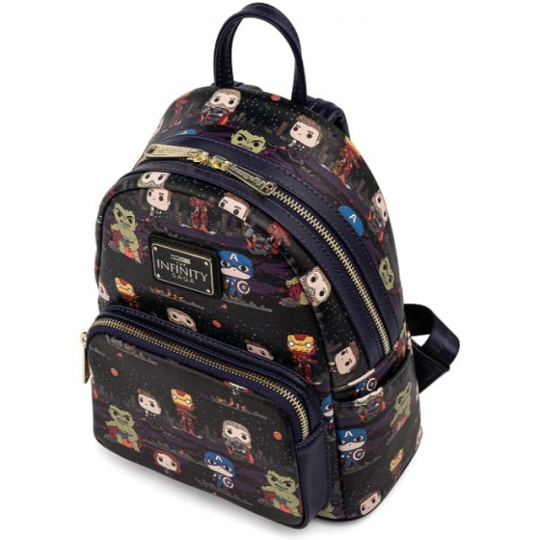 Loungefly: Marvel Avengers Assemble – Funko Pop! AOP Mini Backpack, Amazon Exclusive