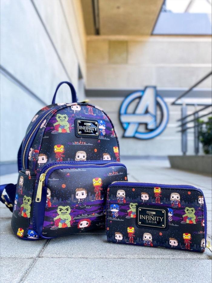 Loungefly Marvel Avengers Assemble – Funko Pop! AOP Mini Backpack