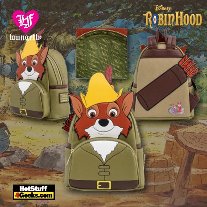 Loungefly Robin Hood Cosplay Mini Backpack - BAM Exclusive
