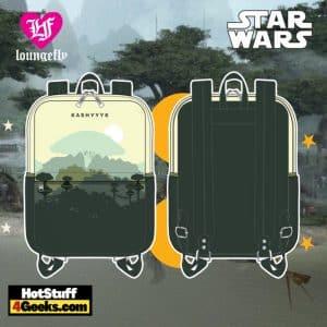 Loungefly Star Wars Kashyyyk Square Mini Backpack
