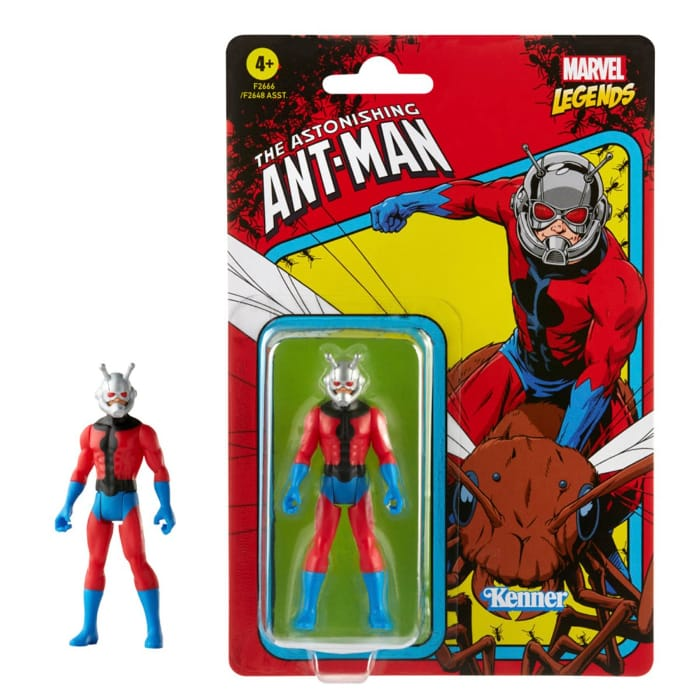 Marvel Legends Retro 375 Collection Ant-Man 3 34-Inch Action Figure