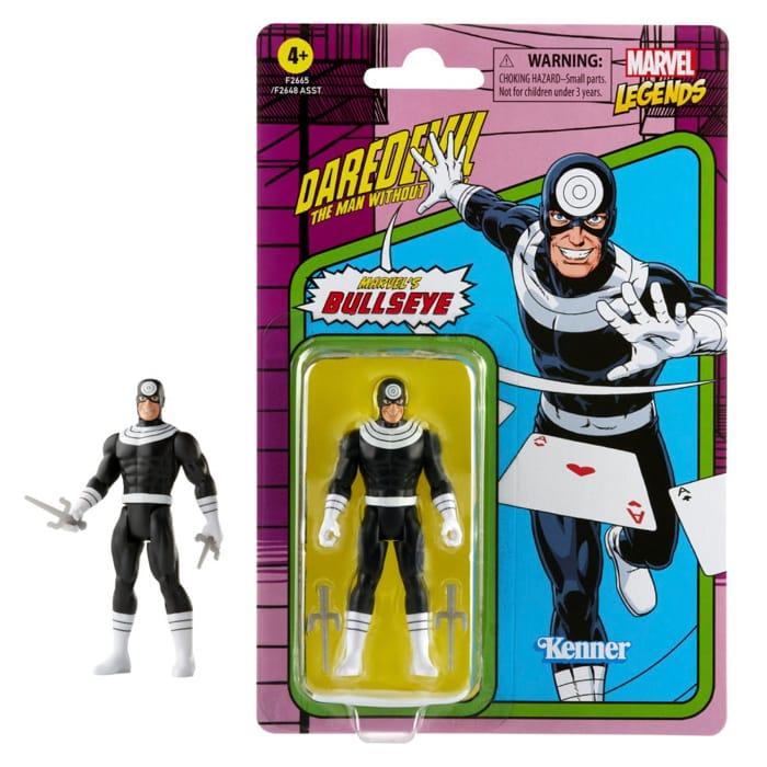 Marvel Legends Retro 375 Collection Bullseye 3 34-Inch Action Figure