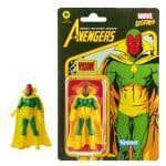 Marvel Legends Retro 375 Collection Vision 3 34-Inch Action Figure