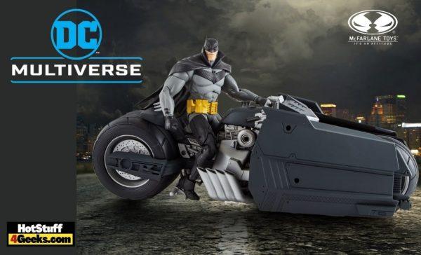 McFarlane Toys DC Multiverse - Batman Curse of the White Knight - Batcycle Vehicle