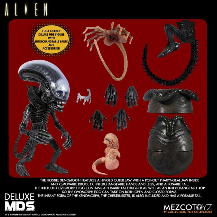 Mezco Toys Alien MDS Deluxe 7-Inch Action Figure