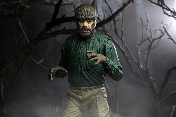 Neca Universal Monsters Wolf Man Ultimate 7-Inch Scale Action Figure