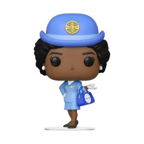 Pan Am Stewardess with Blue Bag Pop! Vinyl Figure