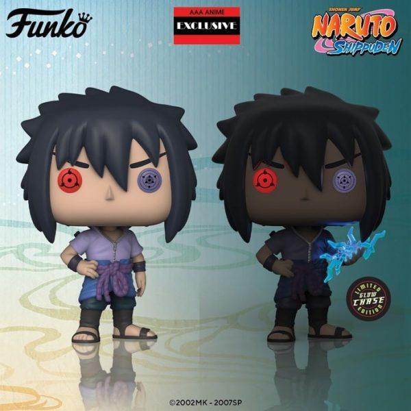 Pop! Animation Naruto - Sasuke (Rinnegan) with glow CHASE (AAA exclusive.)