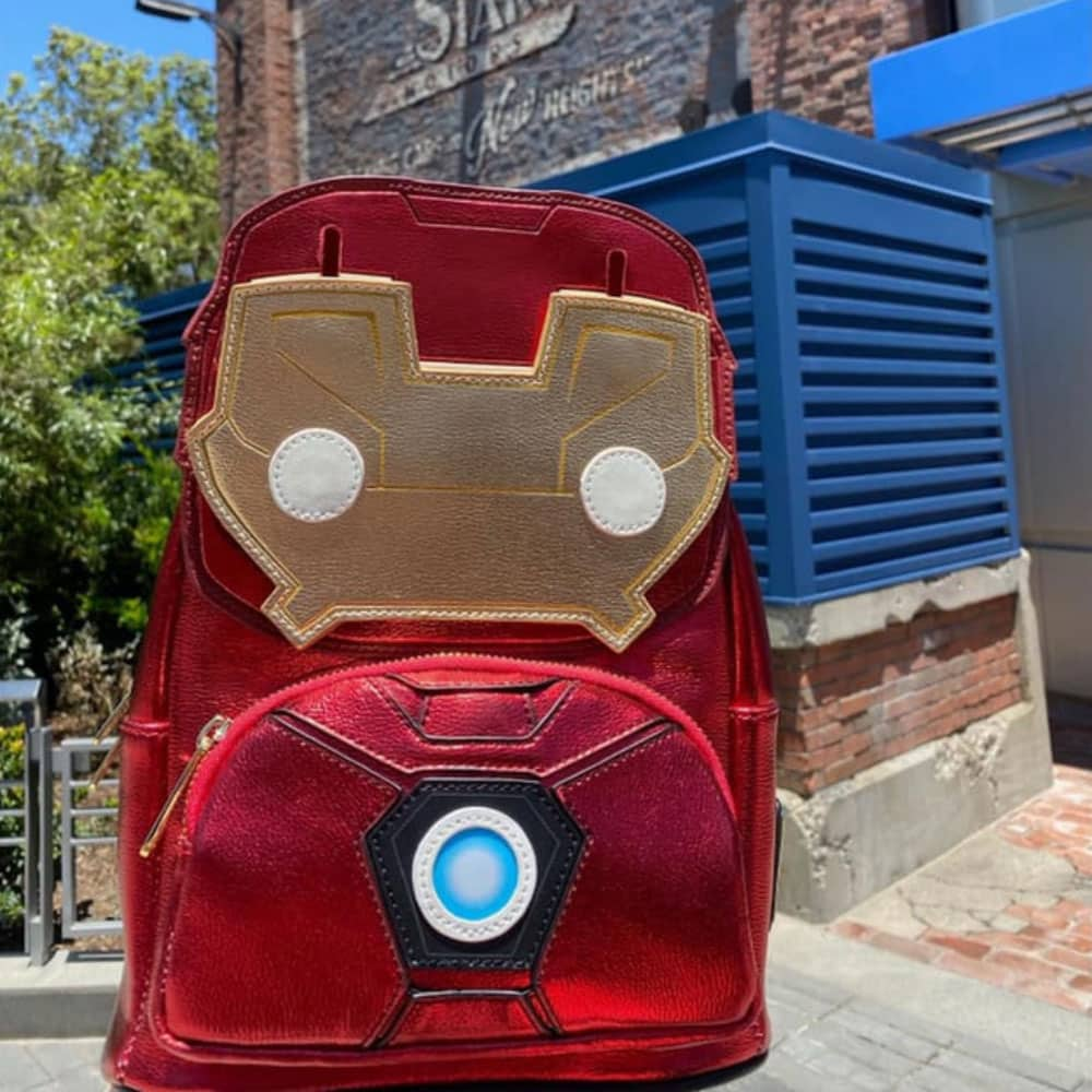 Pop By Loungefly Marvel Iron Man Light-Up Mini Backpack