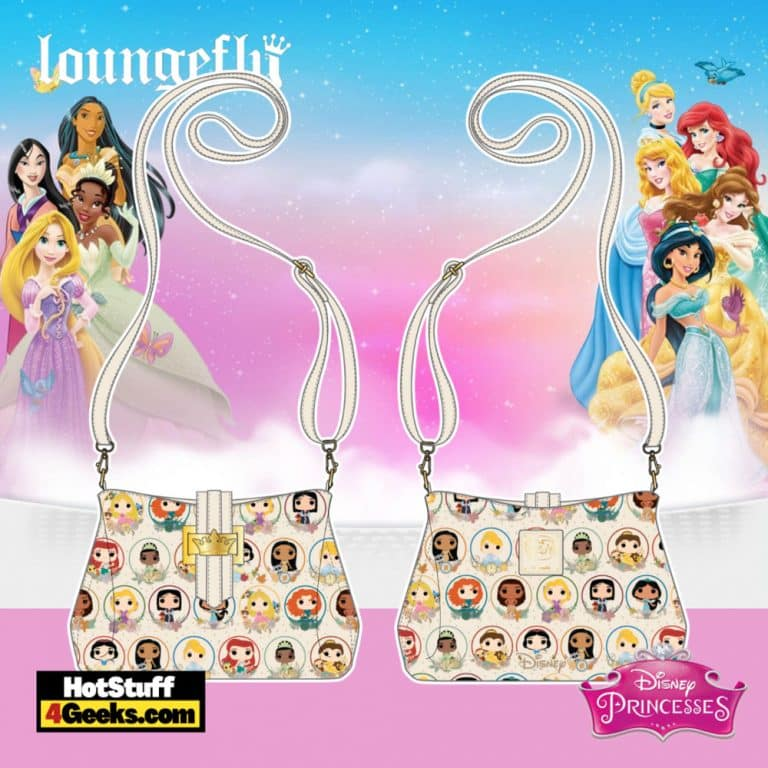 Pop by Loungefly Disney Princess Circles Crossbody - pre-order July 2021 arrives August 2021