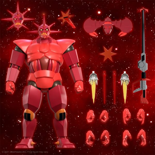 SilverHawks Ultimates Armored MonStar 11-Inch Action Figure