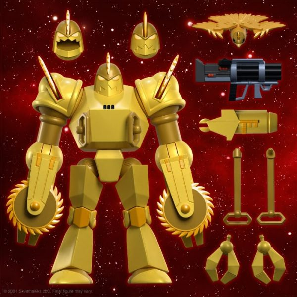 SilverHawks Ultimates Buzz-Saw 8-Inch Action Figure