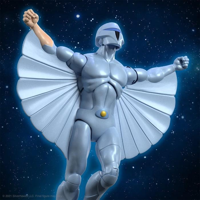 SilverHawks Ultimates Quicksilver 7-Inch Action Figure