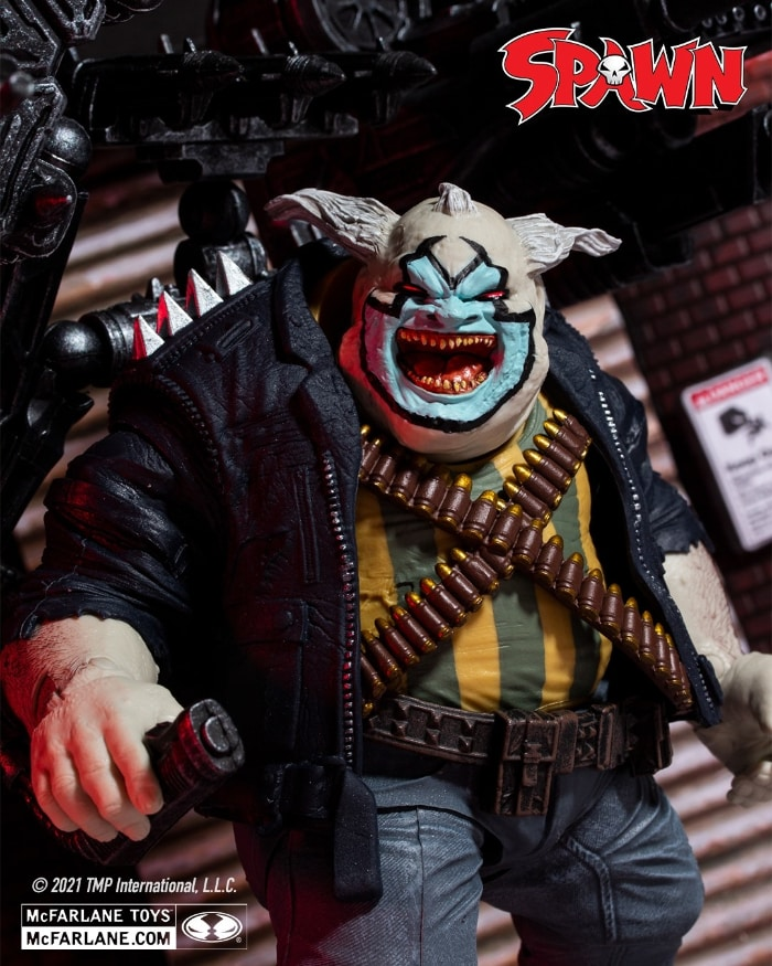 Spawn The Clown Deluxe Action Figure Set