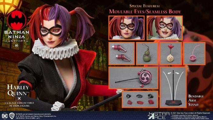 Star Ace Batman Ninja Harley Quinn 16 Scale Action Figure - Deluxe Version