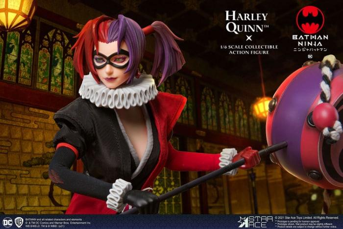 Star Ace Batman Ninja Harley Quinn 16 Scale Action Figure - Normal Version