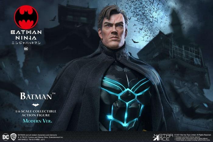 Star Ace Batman Ninja Modern Batman 16 Scale Action Figure