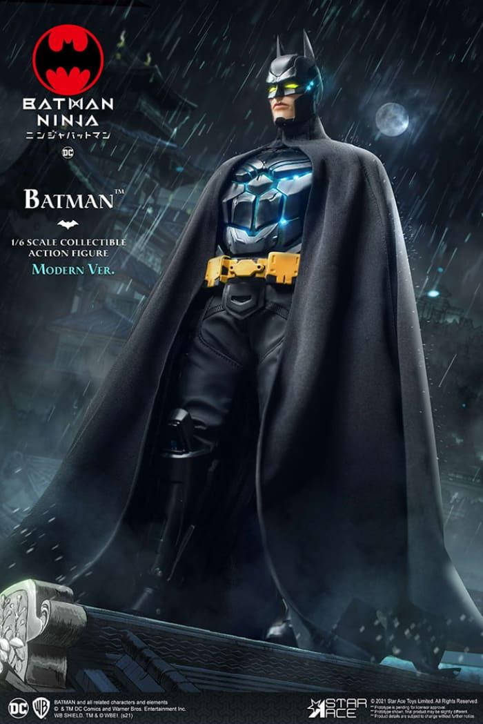 Star Ace Batman Ninja Modern Batman 16 Scale Action Figure Regular Version