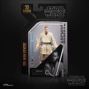 Star Wars The Black Series Archive Obi-Wan Kenobi (Revenge of the Sith) 6-Inch Action Figure
