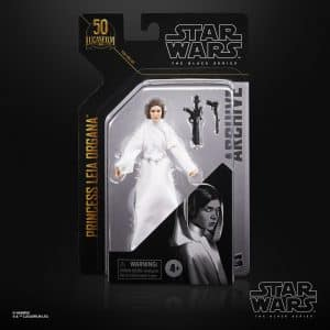 Star Wars The Black Series Archive Princess Leia Organa 6-Inch Action Figure