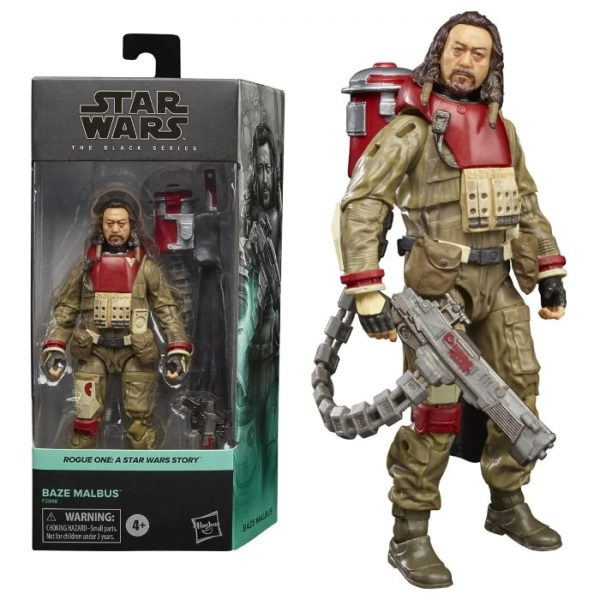 Star Wars The Black Series Baze Malbus 6-Inch Action Figure