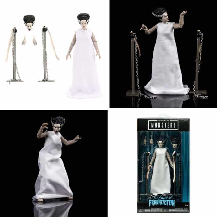 Universal Monsters Bride of Frankenstein 6-Inch Scale Action Figure