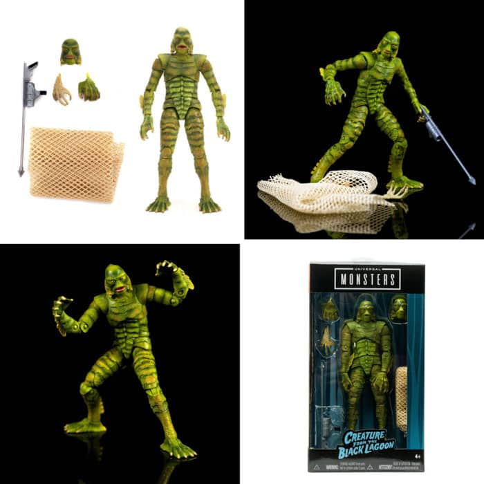 Universal Monsters Creature from the Black Lagoon 6-Inch Scale Action Figure