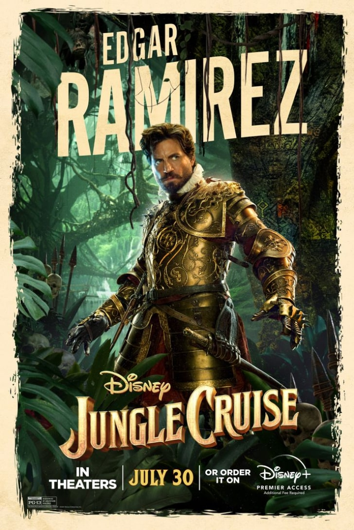 12 Interesting Facts About Jungle Cruise's New Disney Movie - Renaissance Inspiration