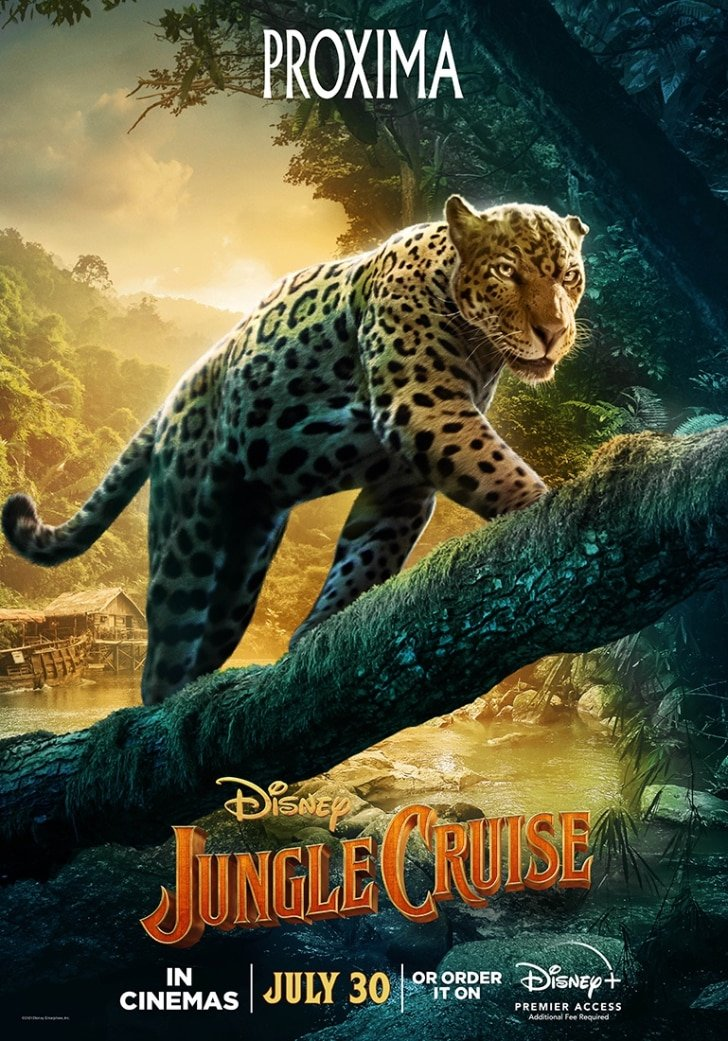 12 Interesting Facts About Jungle Cruise's New Disney Movie - Proxima The Jaguar