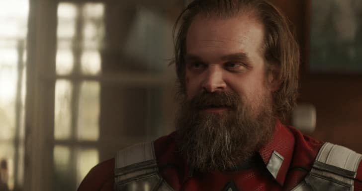 Black Widow Movie Characters and Cast Overview - Alexei Shostakov/Red Guardian (David Harbour)