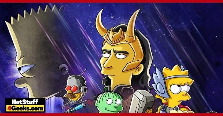 Disney+ Unites Loki and Bart Simpson in a Short Film