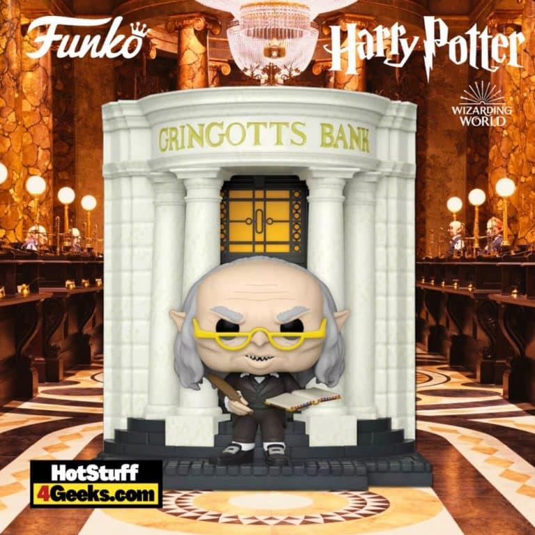 Funko POP! Deluxe: Harry Potter Diagon Alley - Gringotts Bank with Griphook Funko Pop! Vinyl Figure - Target Exclusive
