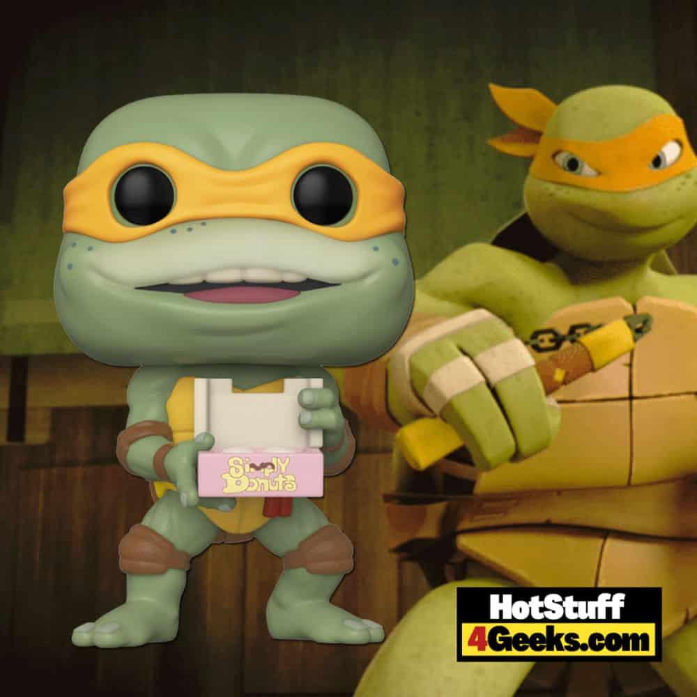 Funko POP! Movies: Teenage Mutant Ninja Turtles 2 - Michelangelo 10-Inch Jumbo Sized Funko Pop! Vinyl Figure - Walmart Exclusive