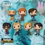 Funko POP! Rocks: BTS - Dynamite - RM, Jin, SUGA, J-Hope, Jimin, V e Jungkook Funko Pop! Vinyl Figures