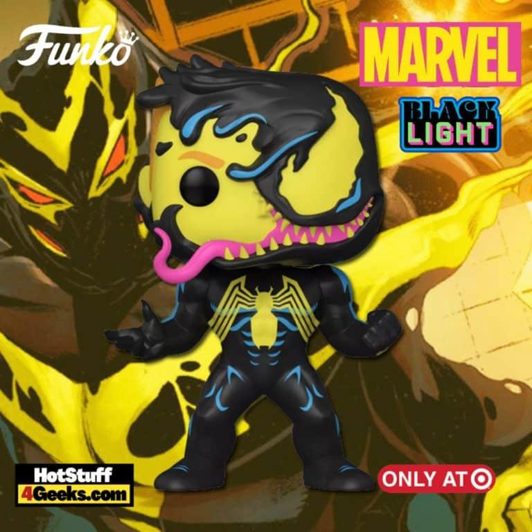 Funko POP! & Tee Collector's Box: Venom - Eddie Brock Blacklight Funko Pop! Vinyl Figure - Target Exclusive