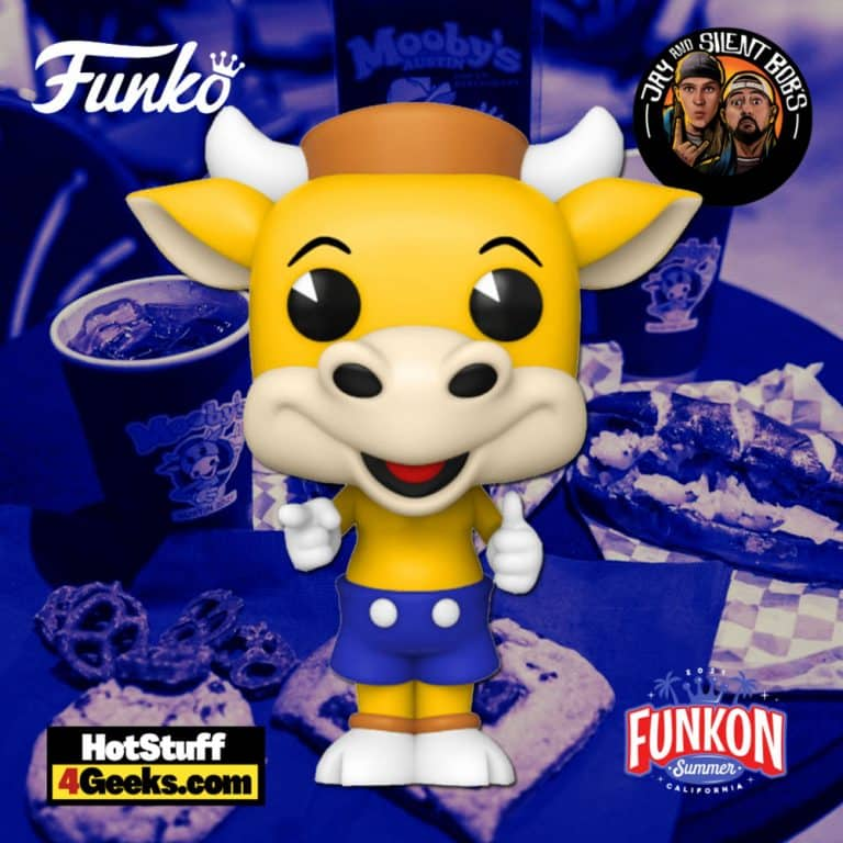 Funko Pop! Ad Icons: Jay and Silent Bob - Mooby's Mascot Funko Pop! Vinyl Figure Virtual FunKon 2021