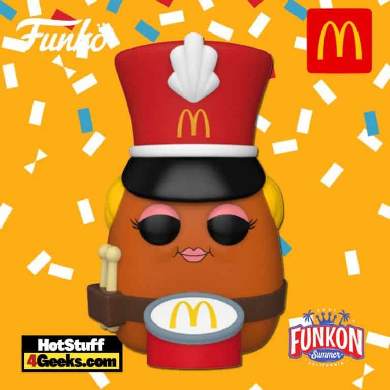 Funko Pop! Ad Icons: McDonald's: Drummer McNugget Funko Pop! Vinyl Figure Virtual FunKon 2021 - Hot Topic Shared Exclusive