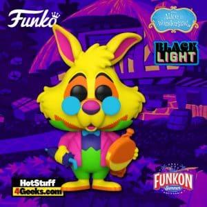 Funko Pop! Alice In Wonderland White Rabbit BlackLight
