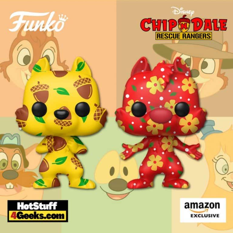 Funko Pop! Artist Series: Disney Treasures of The Vault - Chip & Dale (2 Pack) Funko Pop! Vinyl Figure - Amazon Exclusive