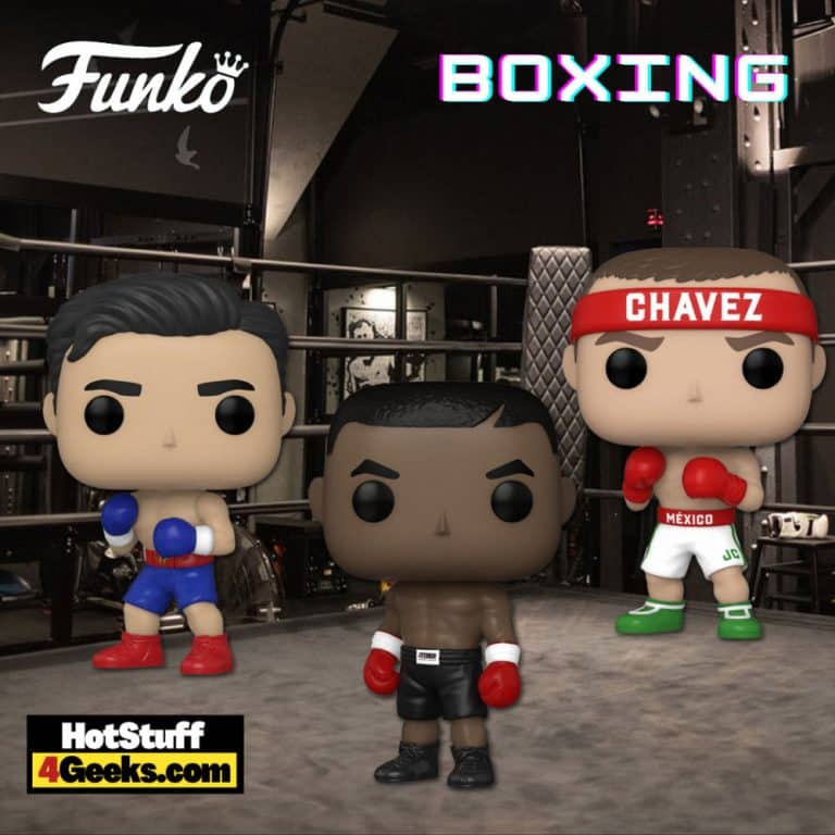 Funko Pop! Boxing - Mike Tyson, Chávez, and Ryan Garcia Funko Pop! Vinyl Figures