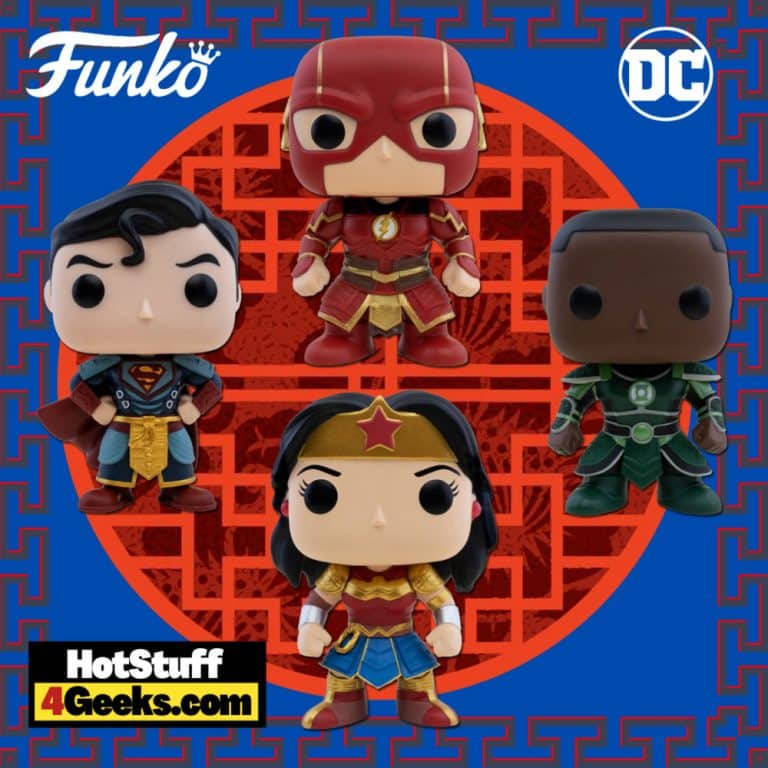 Funko Pop! DC Comics Imperial Palace: Superman, The Flash, Green Lantern, and Wonder Woman Funko Pop! Vinyl Figures